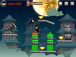 Ninja Cannon Shots