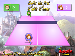 Sofia the First Tennis