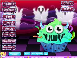 Monster Cupcake Decoration