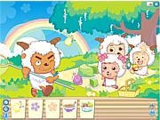 Goats Garden Picnic