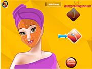 Princess Belle Facial Makeover