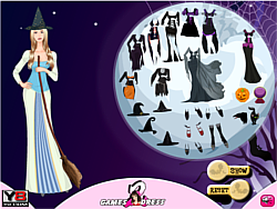 Witch Hallows Dress Up