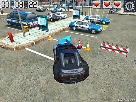Skill 3D Parking Police Station