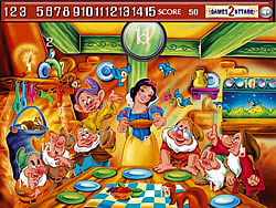 Princess snow white Hidden Numbers