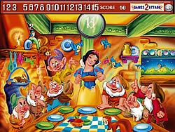 Princess snow white Hidden Numbers