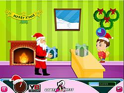 Funny Santa Gift Serves