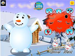 Snow Man Merry Christmas