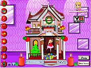 Barbie Christmas House