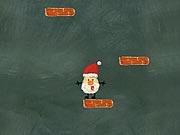 Santa Up There