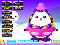 Adorable Penguin Dressup