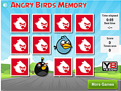 Angry Birds Memory Game