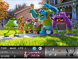 Monsters University Hidden Objects Game