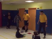 US Navy From Schuyler Visits PS 83