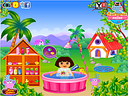 Dora Fun Bathing