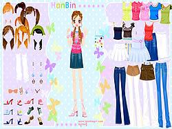 Hanbin Dress up