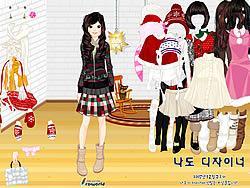 Sweet Holiday Girl