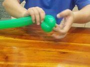 Balloon Modeling - Flowerpot Base