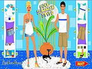 Jogos Estilo de verão fresco