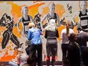 Providence College Sport: Art Mural Timelapse