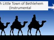 Oh Little Town of Bethlehem Instrumental