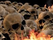 Skulls Burning