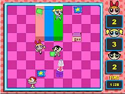 게임 Powerpuff Girls - Pillow Fight - 온라인 플레이: …