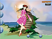 Play Summer fairy dressup Game
