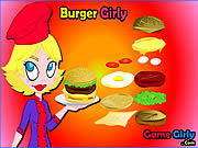 Burger Girly game