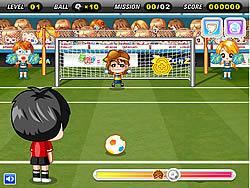 Penalty Go Go game