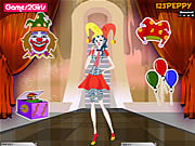 Billy Clown Girl Dressup game