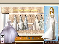 Juega al juego gratis Euro Style Wedding Dresses