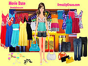Play Movie date dressup Game