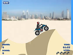 Dune Bashing in Dubai game