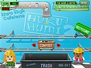 Play Huru humi schoolyard recycling Game