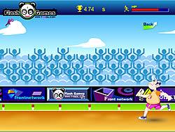 400m Running game