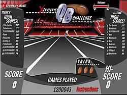 Xtreme QB Challenge game