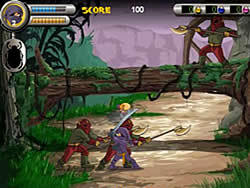 3 Foot Ninja II game