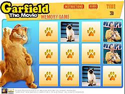 Garfield Memory Game game