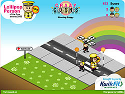 Crazy Crossings game