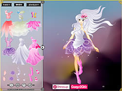 Maglaro ng libreng laro Fairy Magic Dressup