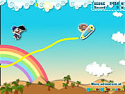 Play Make happy umbrella man Game