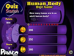 Maglaro ng libreng laro Human Body Quizz Game