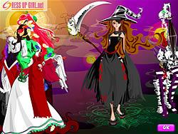 Distinctive Dresses for Halloween oyunu