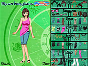 Play Gemini girl dressup Game