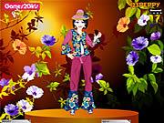 Play Emily flower girl dressup Game