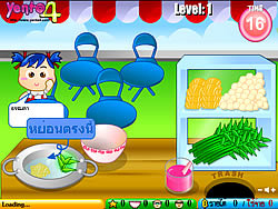 Cooking Thai Food game