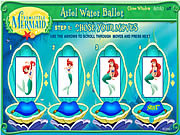 Play Ariel water ballet Game