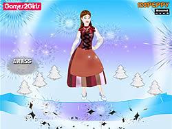 Swedish Girl Dressup game