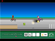 Play Rocket bike Game