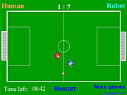 Play Robot soccer Game